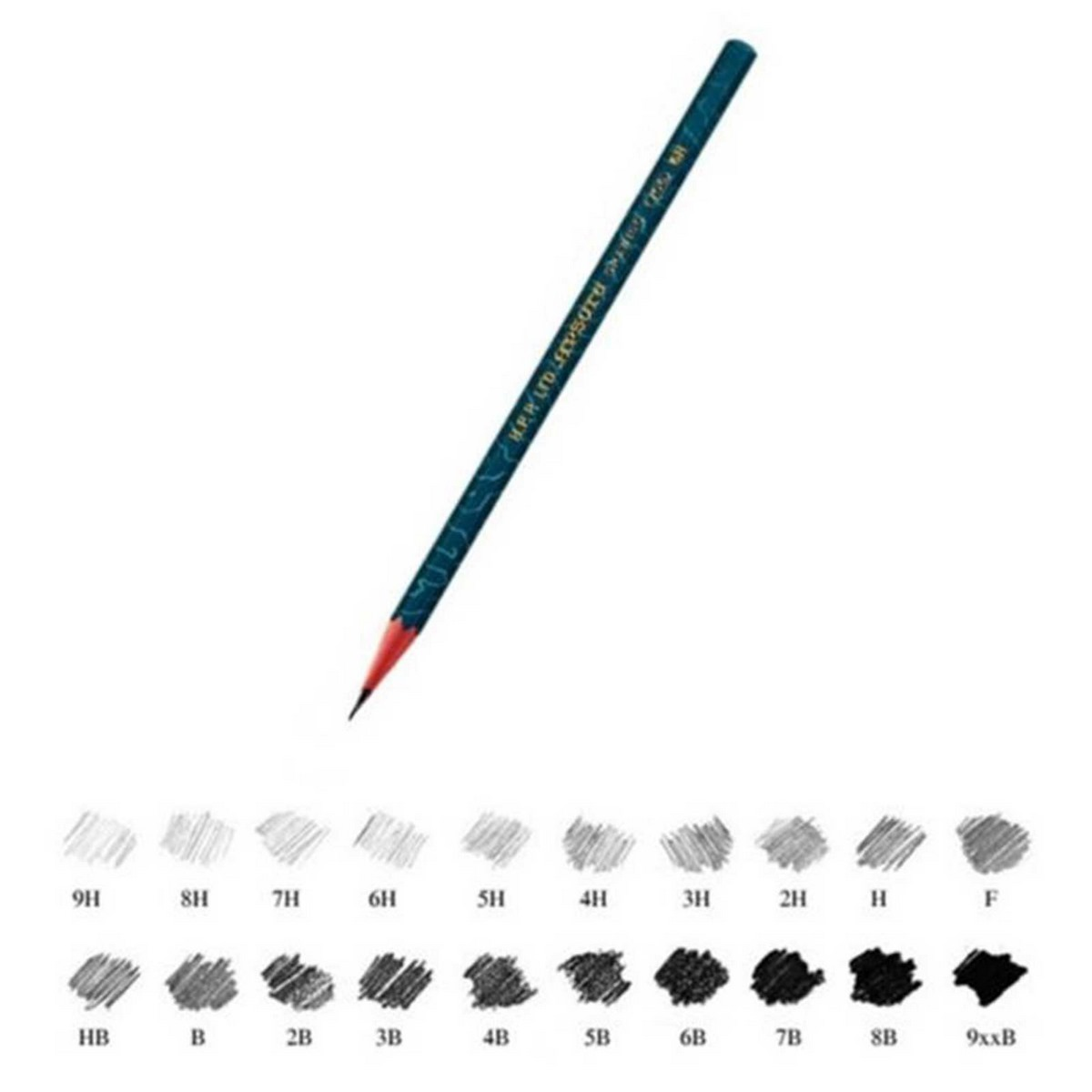 Apsara Drawing Pencils (Lead Size: 2B) Black 101209003