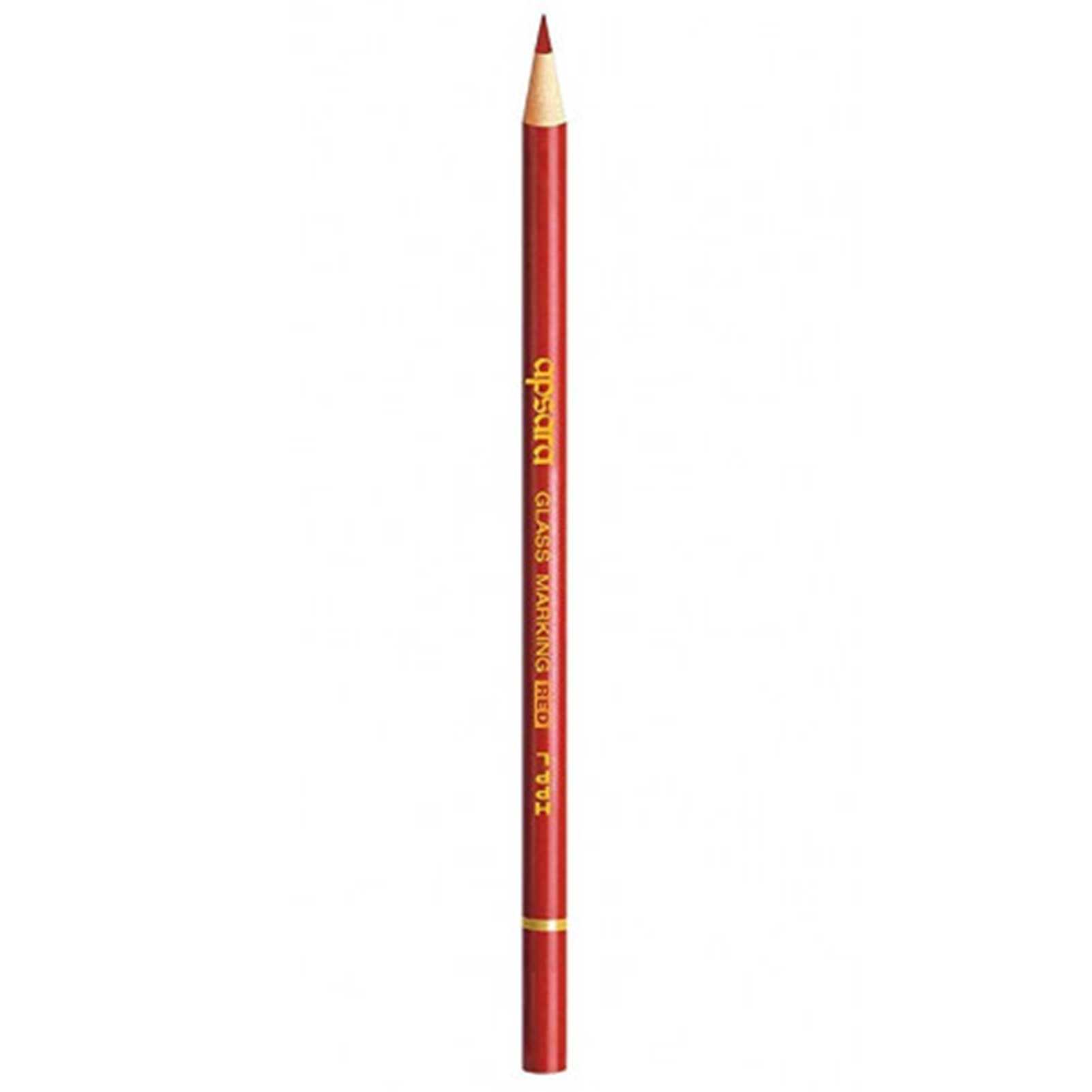 Apsara Glass Marking Pencils Red 101221001R