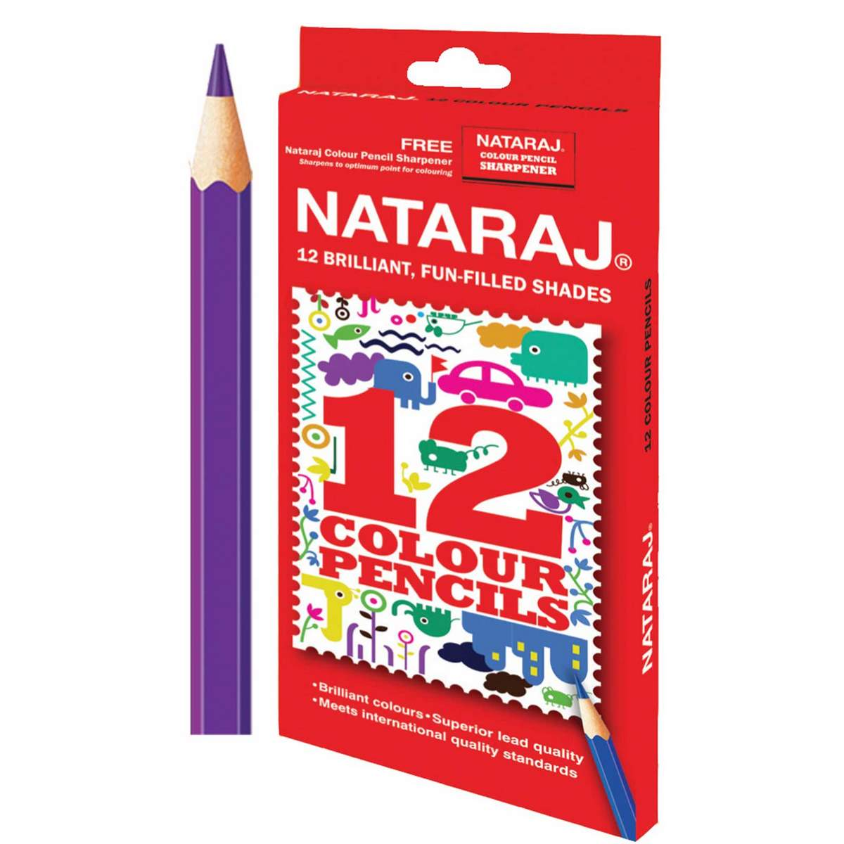 Nataraj Colour Pencils 201251003