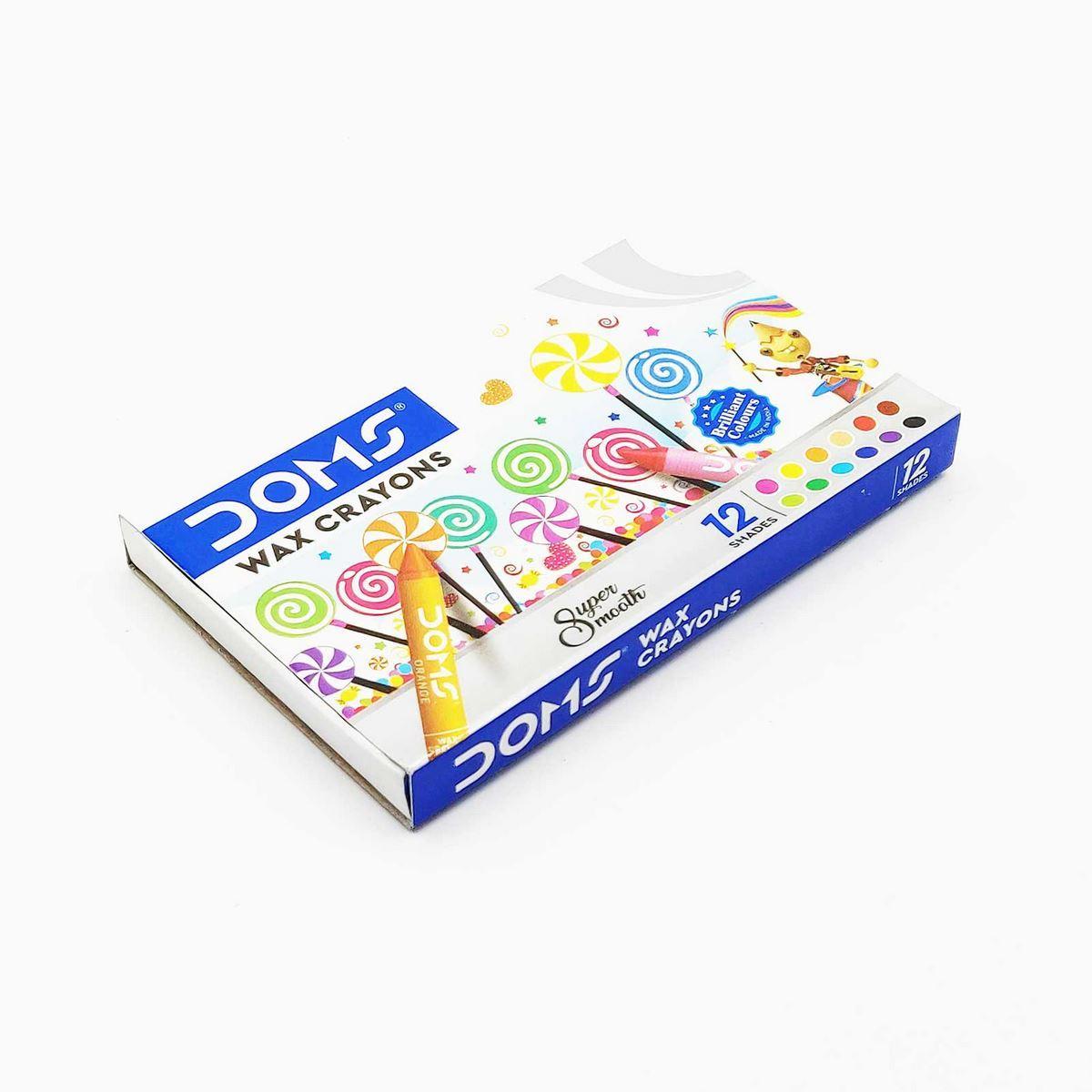 Doms Wax Crayons 3448