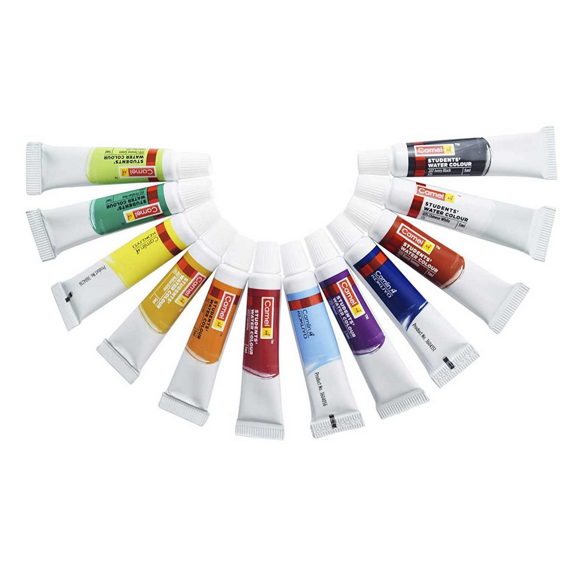 Camlin Water Colour Tubes 3604502