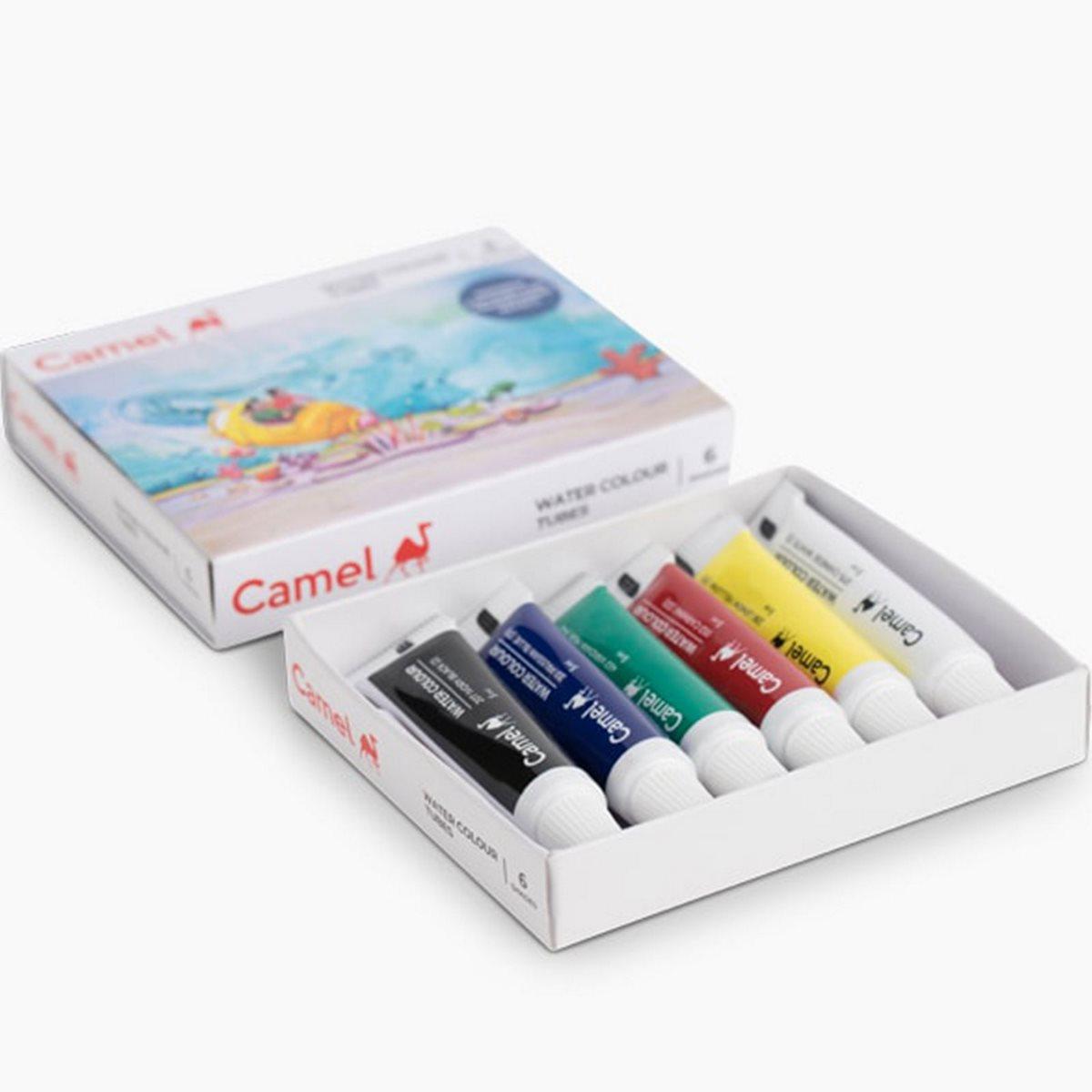 Camlin Water Colour Tubes 3604504