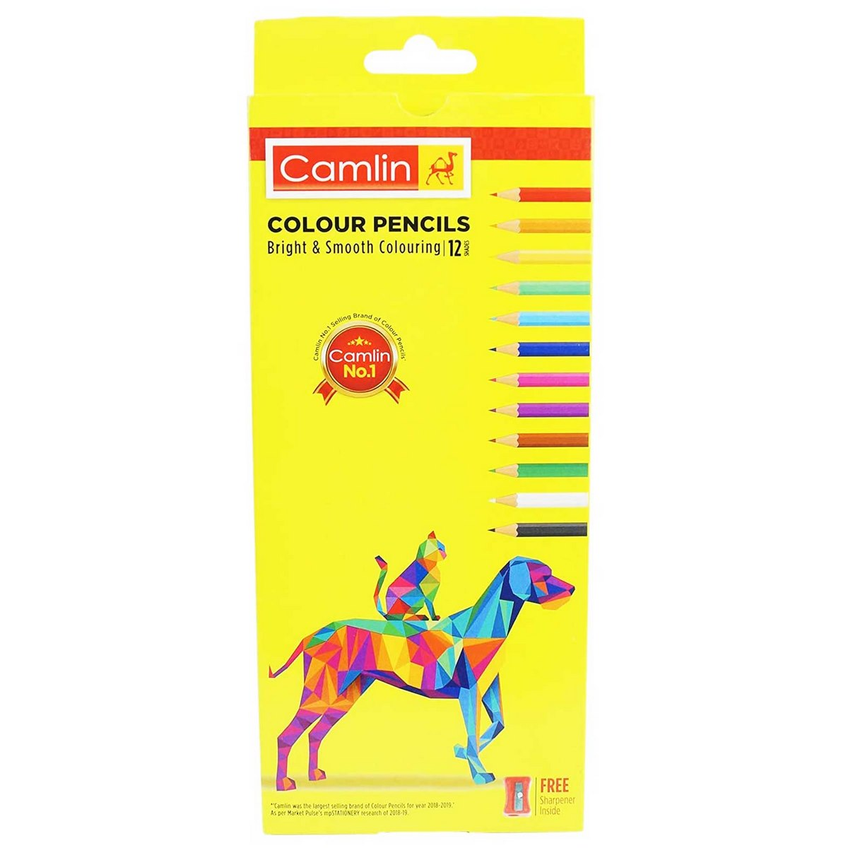 Camlin Colour Pencils 4192566
