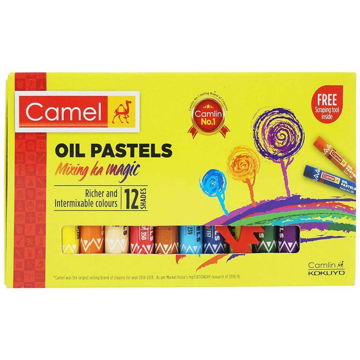 Camlin Oil Pastels Junior 4320512