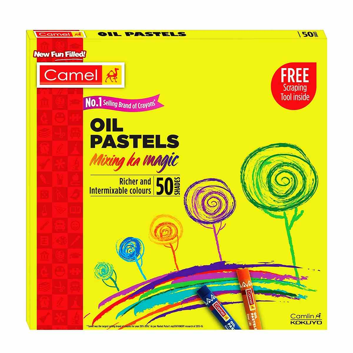 Camlin Oil Pastels 4329536