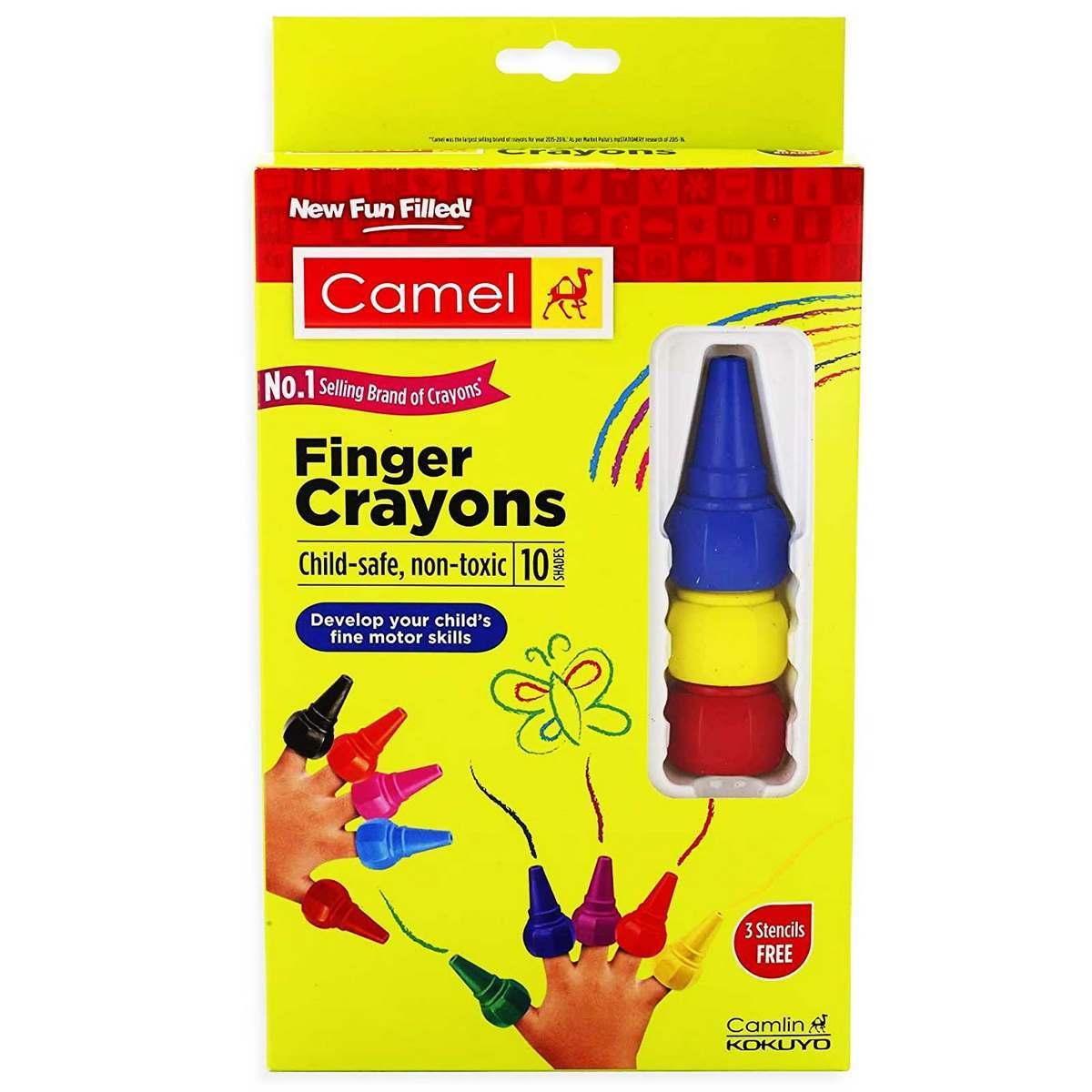 Camlin Finger Crayons 4410947