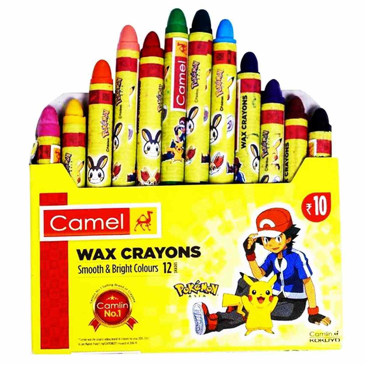 Camlin Wax Crayons 4521546
