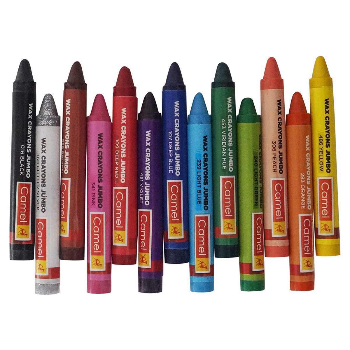 Camlin Wax Crayons Jumbo 4523555
