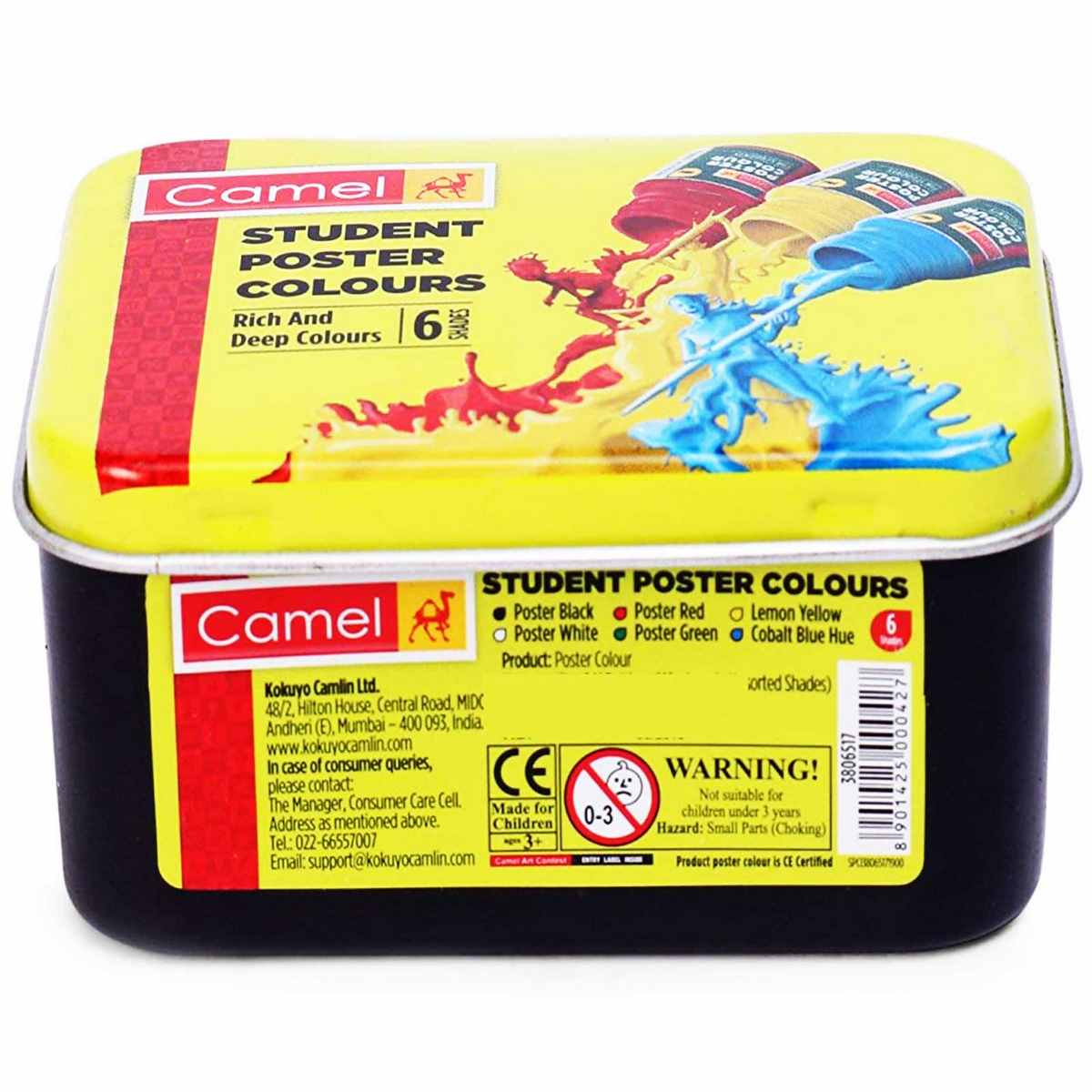 Camlin Student Poster Colours 4706517