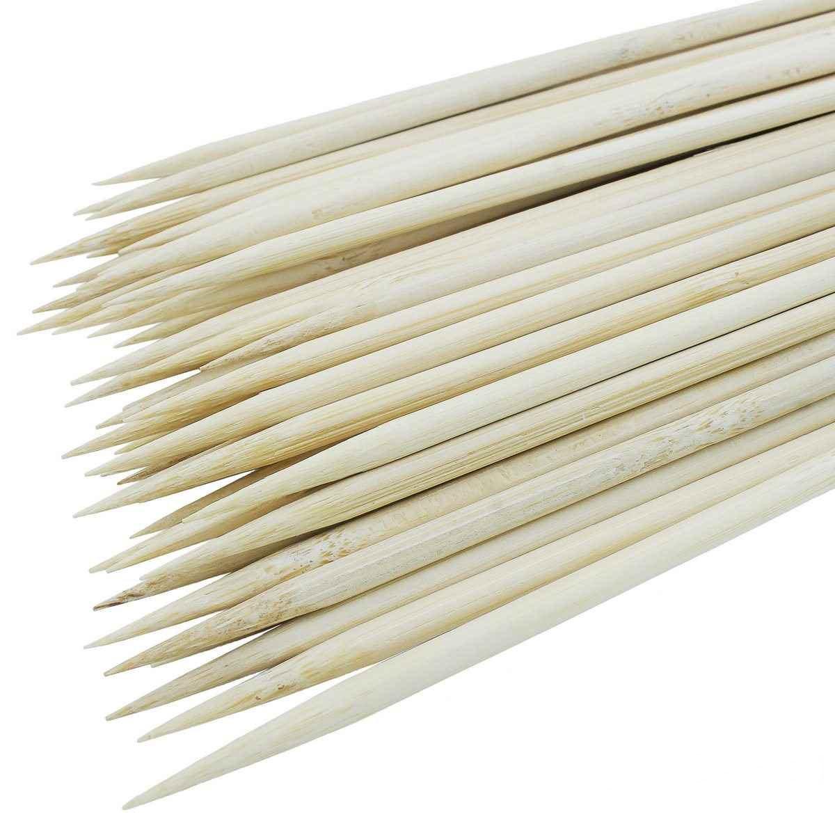 Round Shape Natural Craft Stick