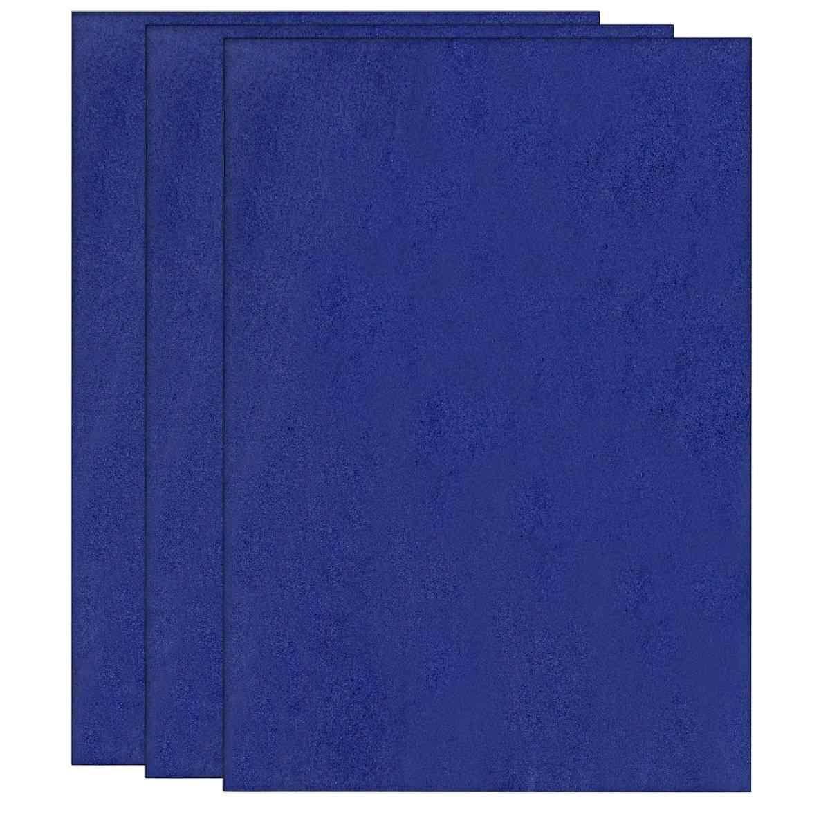 Foam Sheets A4 Size Without Sticker 3MM Dark Blue