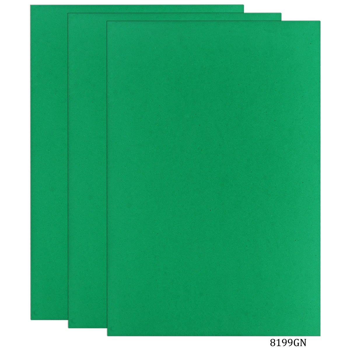 Foam Sheets A4 Size Without Sticker 3MM Green