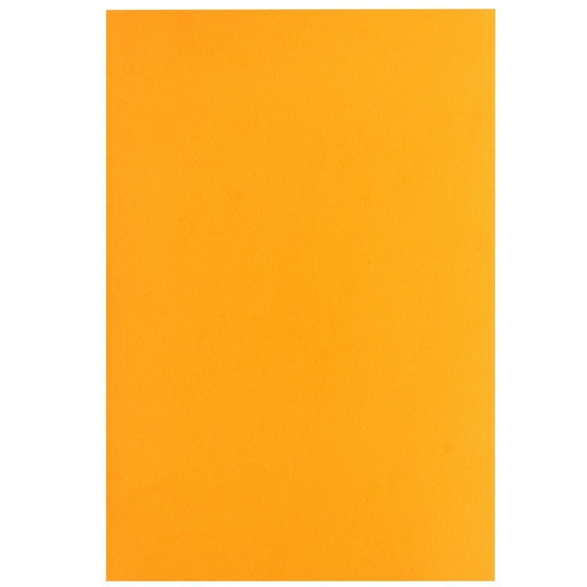 Foam Sheets A4 Size Without Sticker 3MM Orange