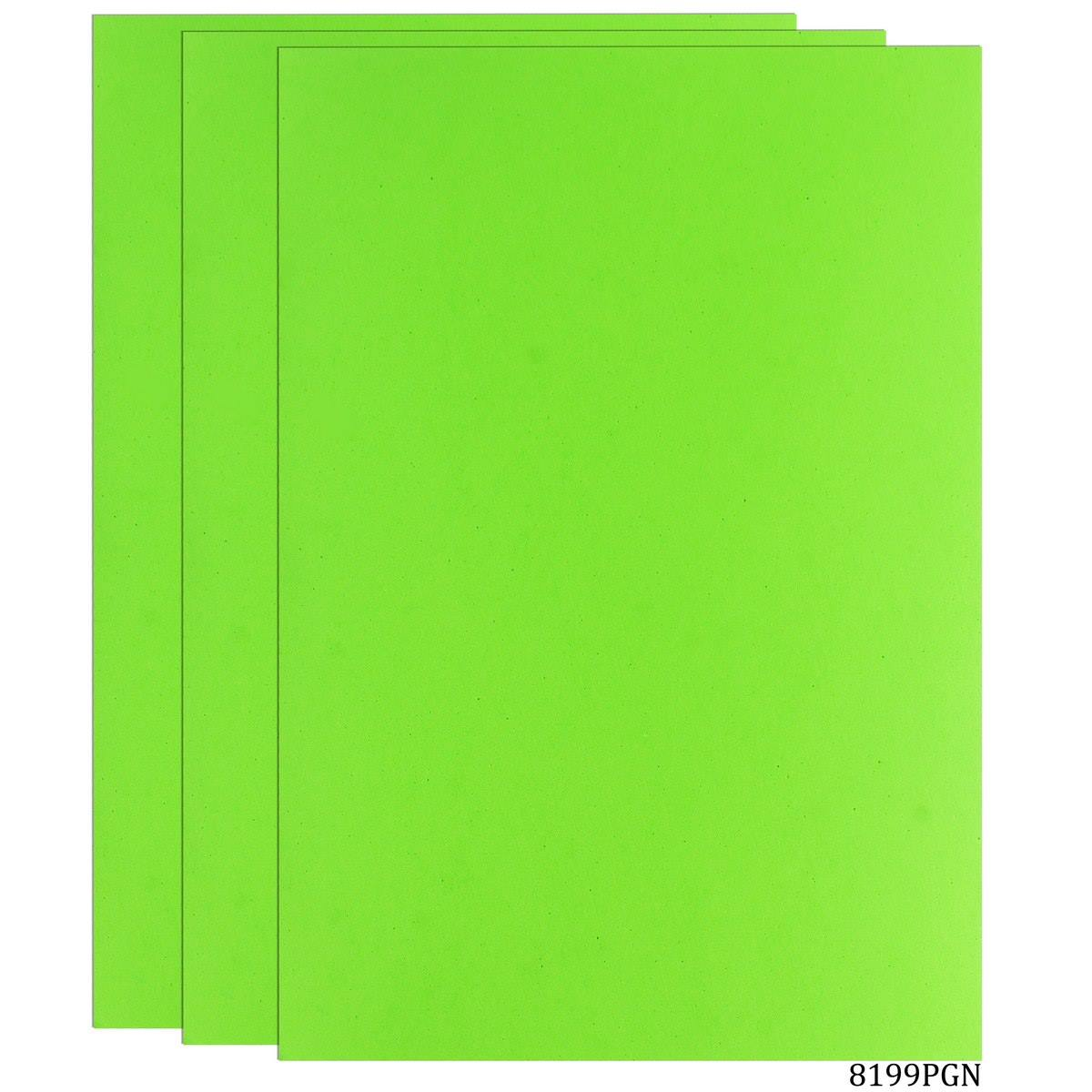 Foam Sheets A4 Size Without Sticker 3MM Parrot Green