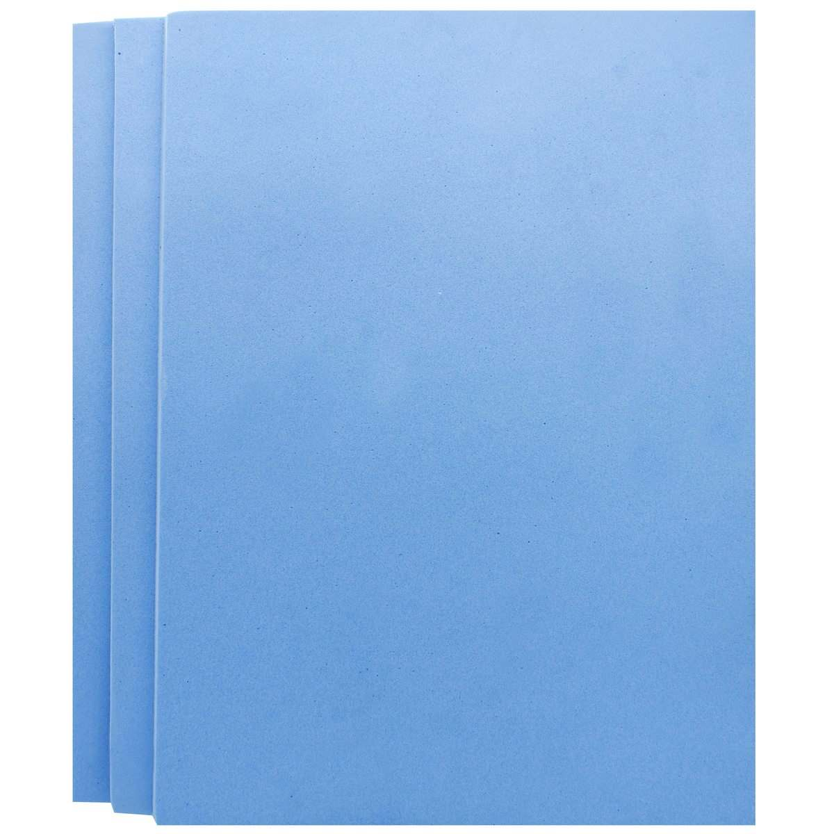 Foam Sheets A4 Size Without Sticker 3MM Sky Blue