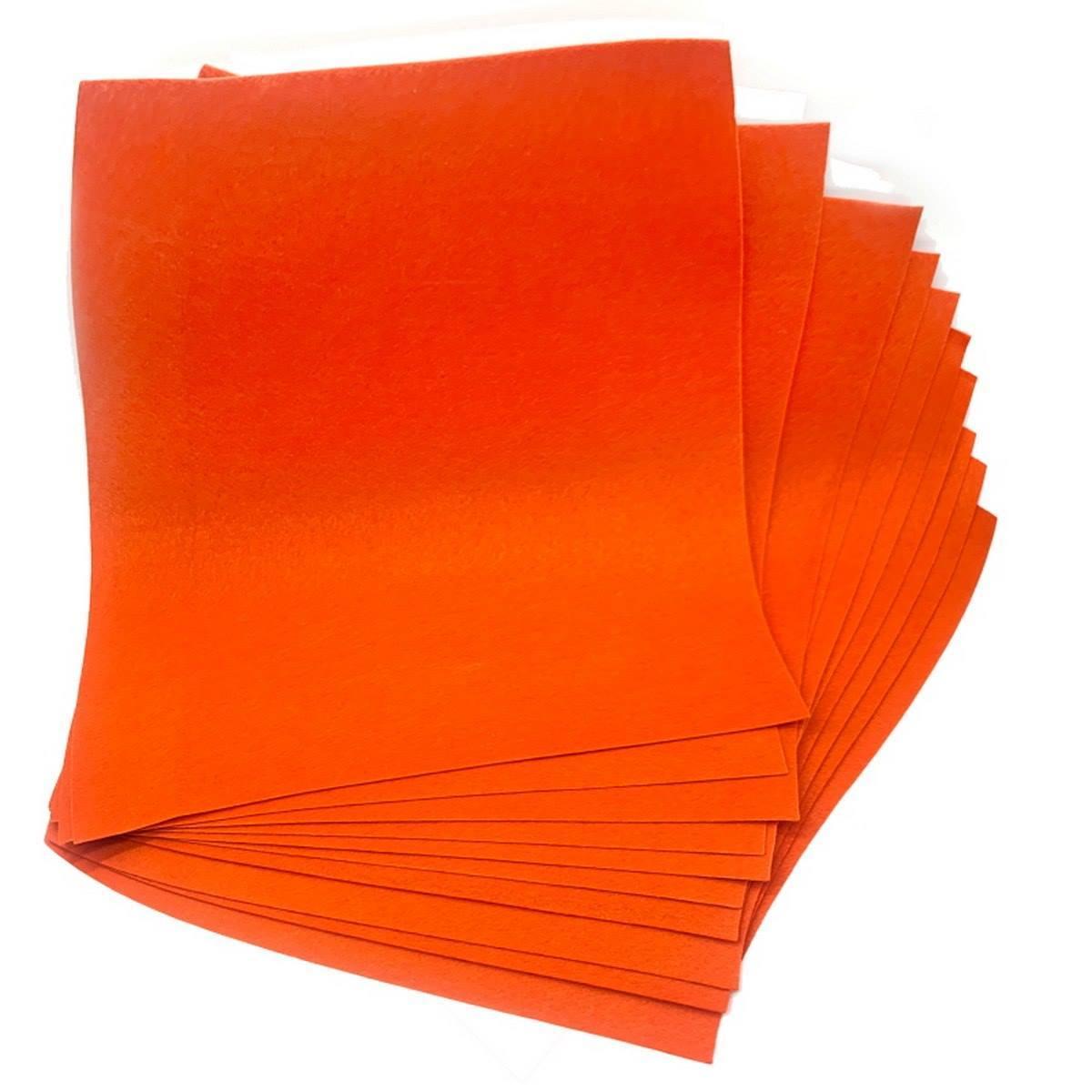 Nonwoven Felt Sheet Orange