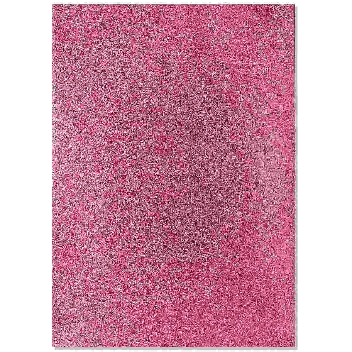 Glitter Foam A3 Sheet Without Sticker Baby Pink