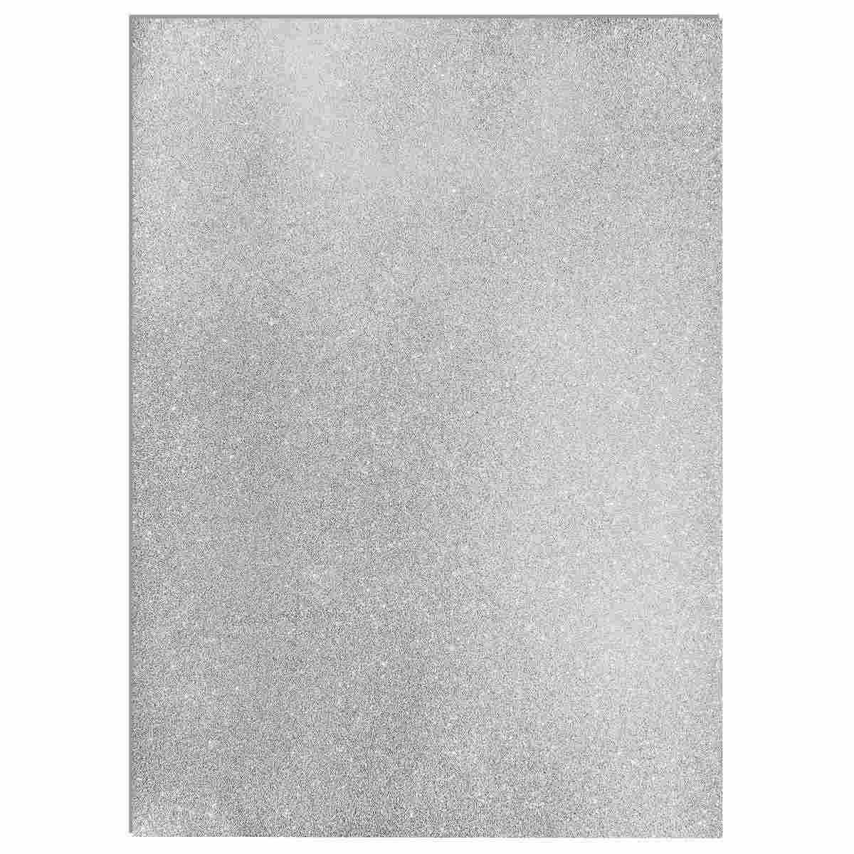 Glitter Foam A3 Sheet Without Sticker Silver