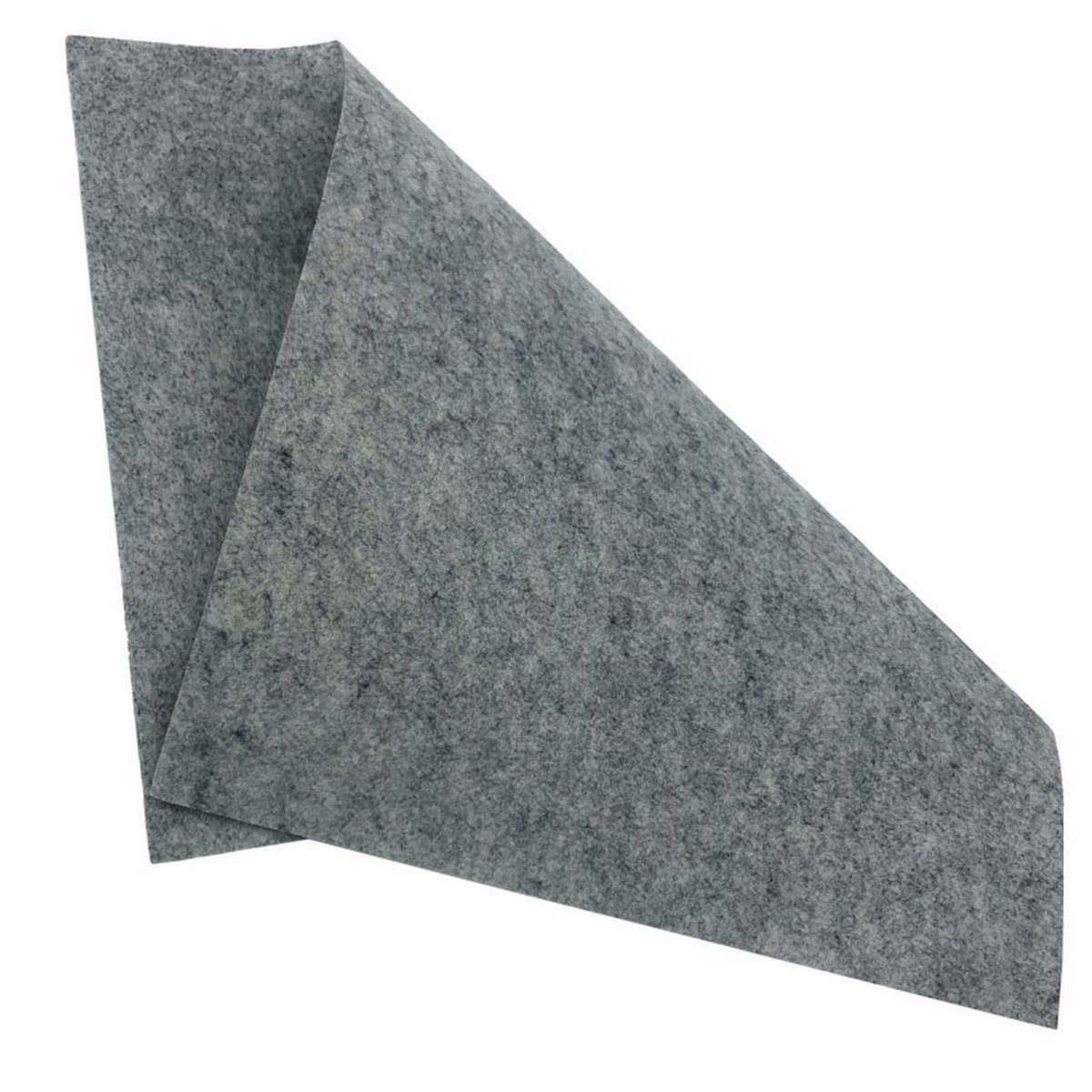 Nonwoven Felt Sheet Grey