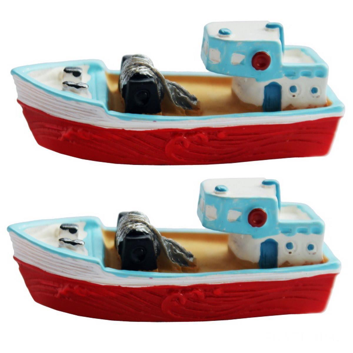 Miniature Boat Blue