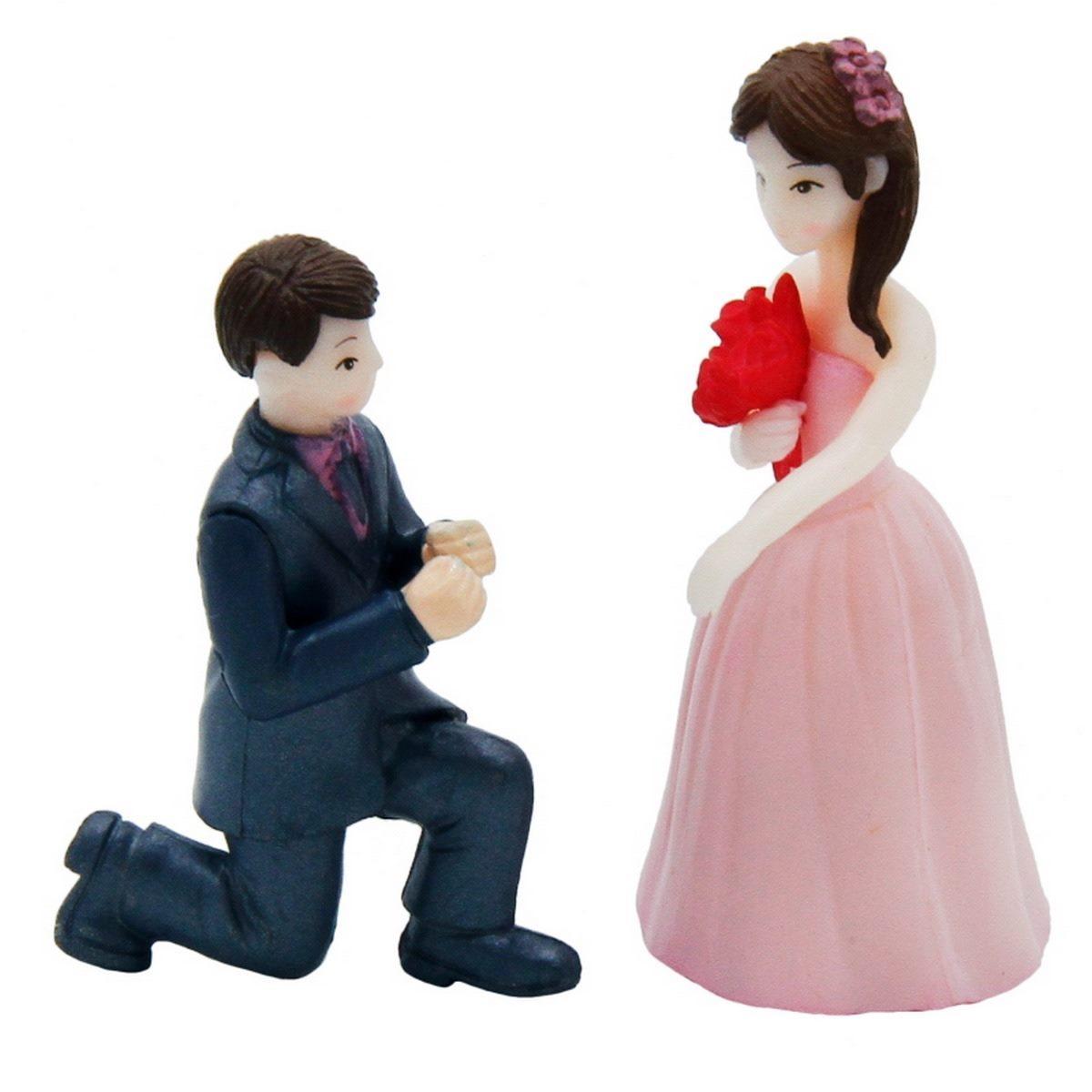 Miniature Couple