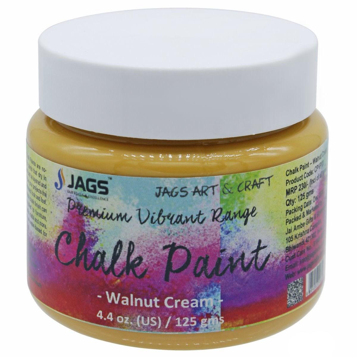 Premium vibrant Range Chalk Paint Walnut Cream
