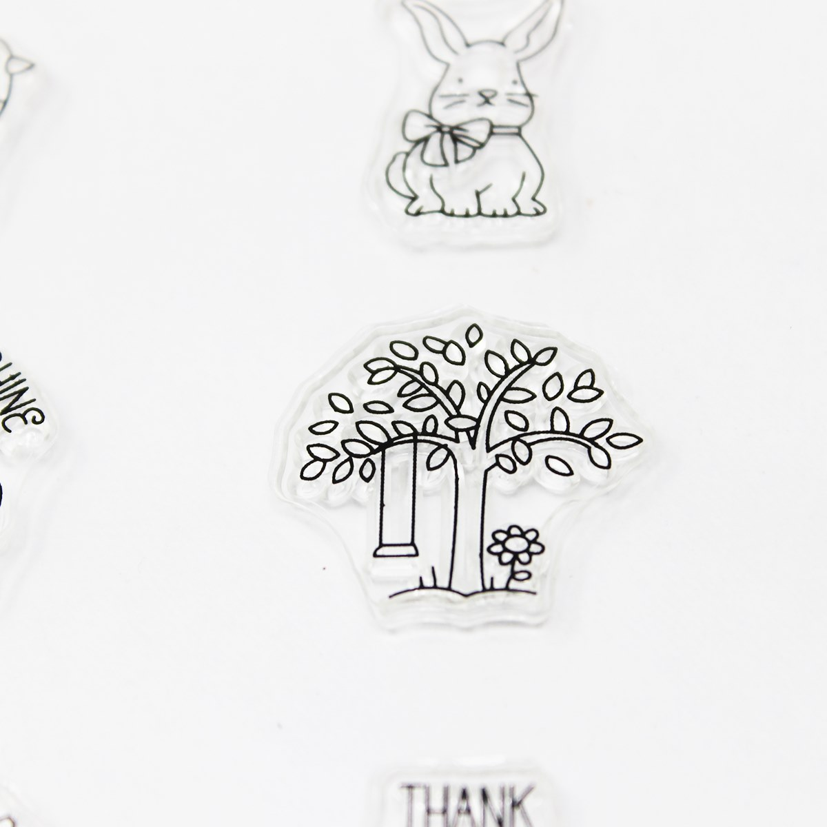 Clear Rubber Stamp