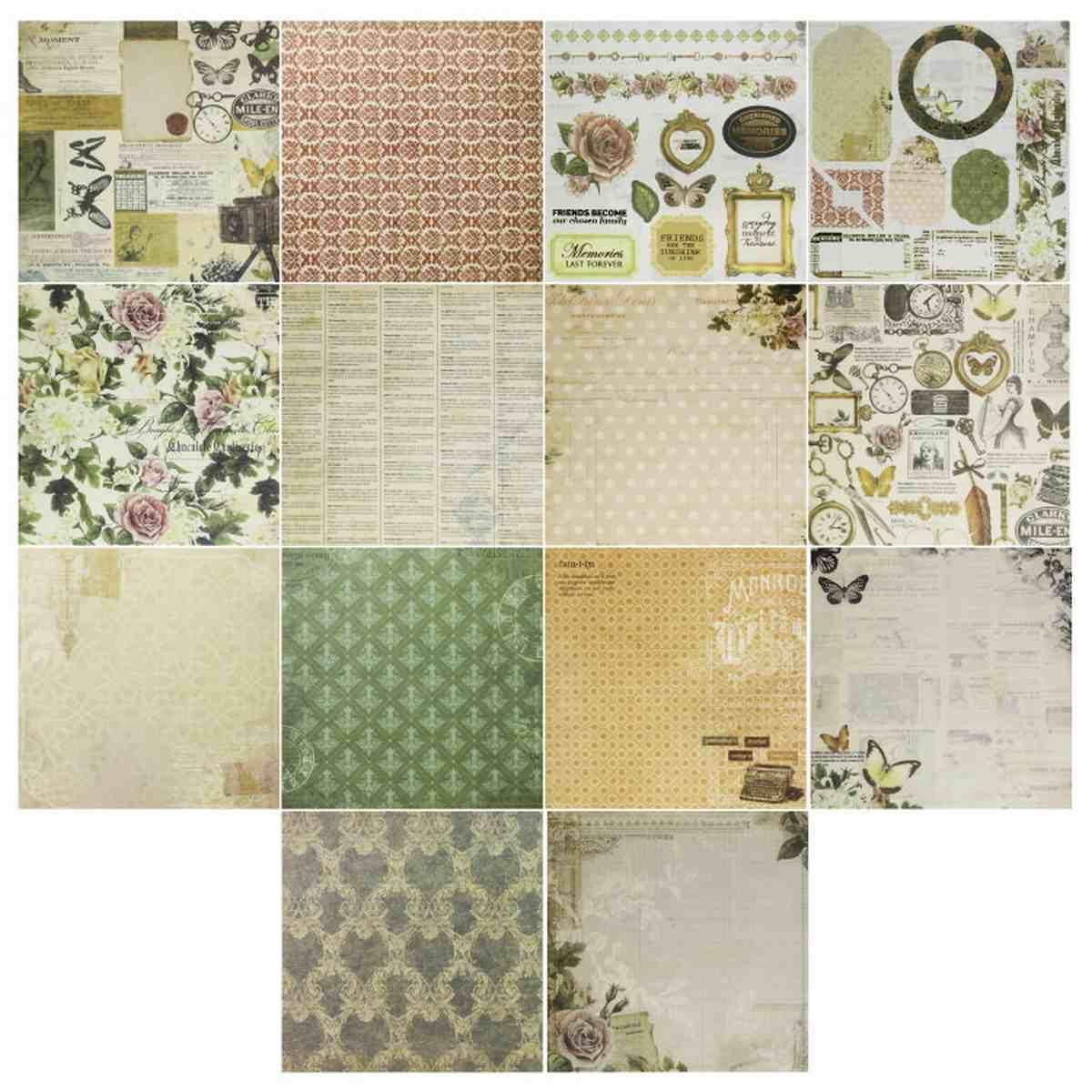 Paper Designer 6x6 Inch Printed Paper