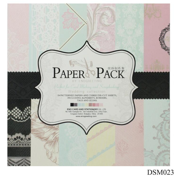 Paper Pack 6x6 Inch Printed Paper