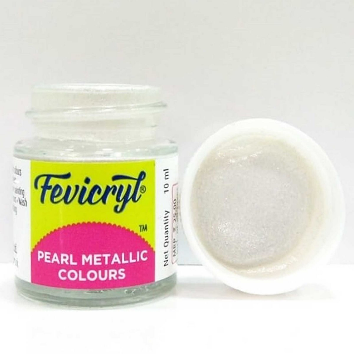 Fevicryl Pearl Metallic Colours Silver DSOD12