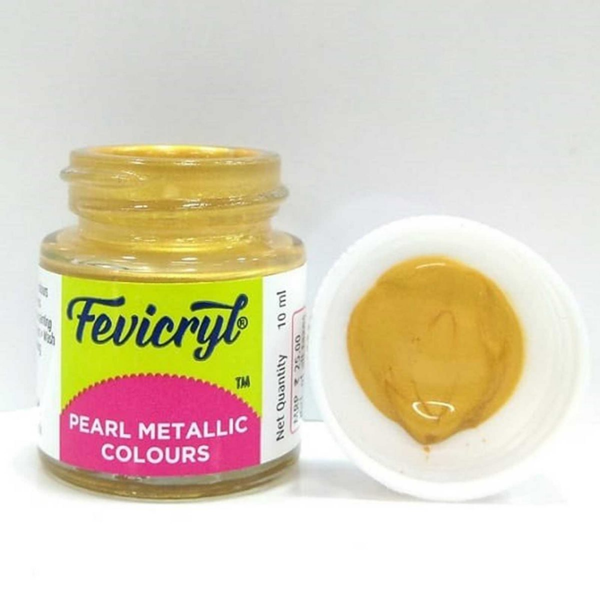 Fevicryl Pearl Metallic Colours Gold DSOD25