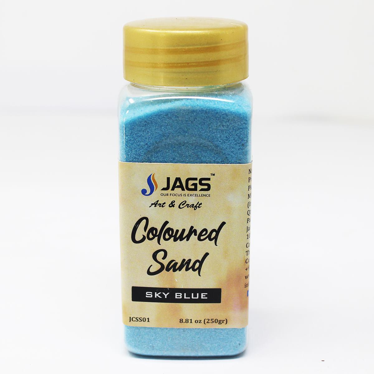 Coloured Sand Sky blue