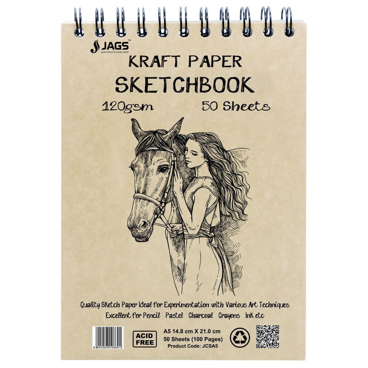 A5 Kraft Paper Sketchbook