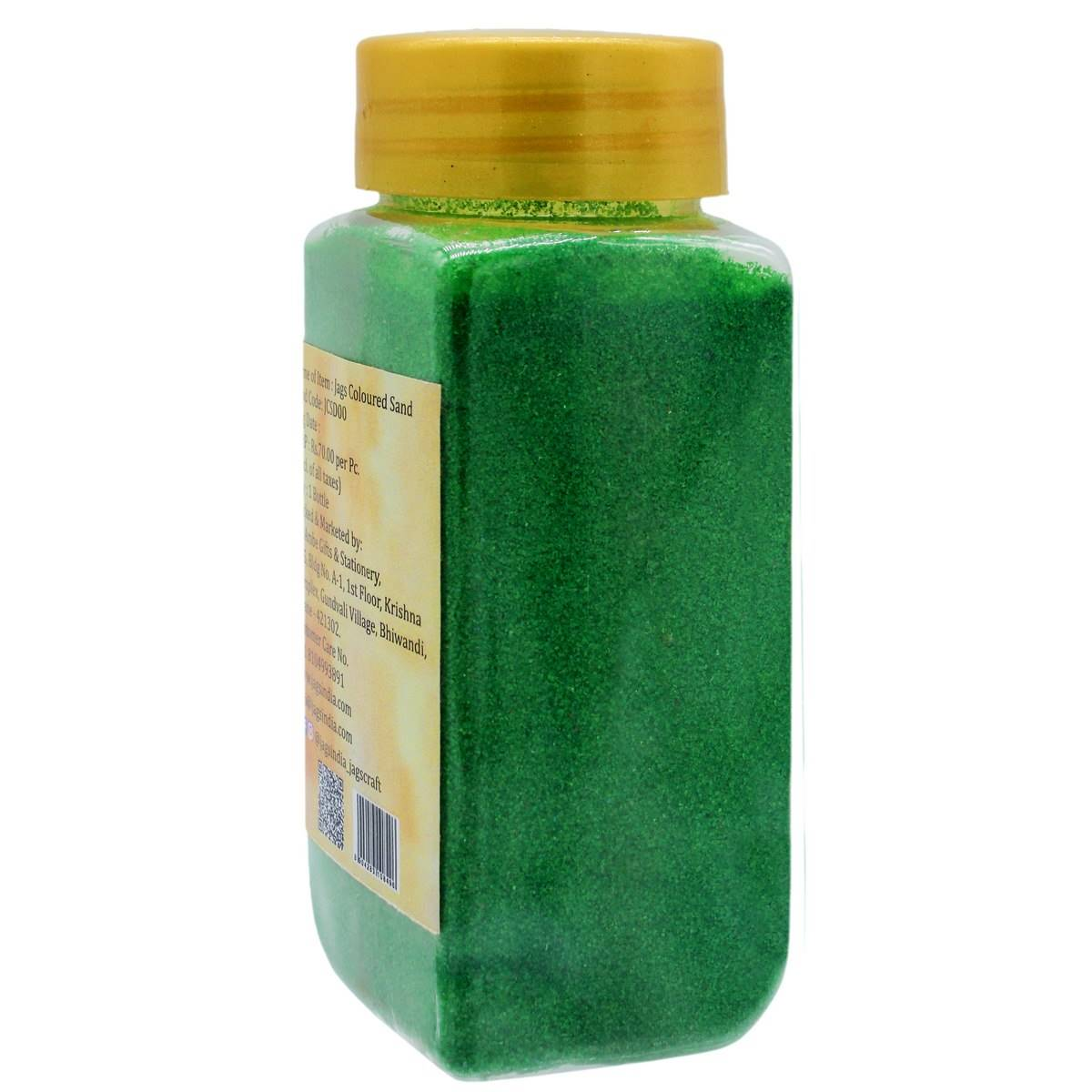 Coloured Sand Dark Green