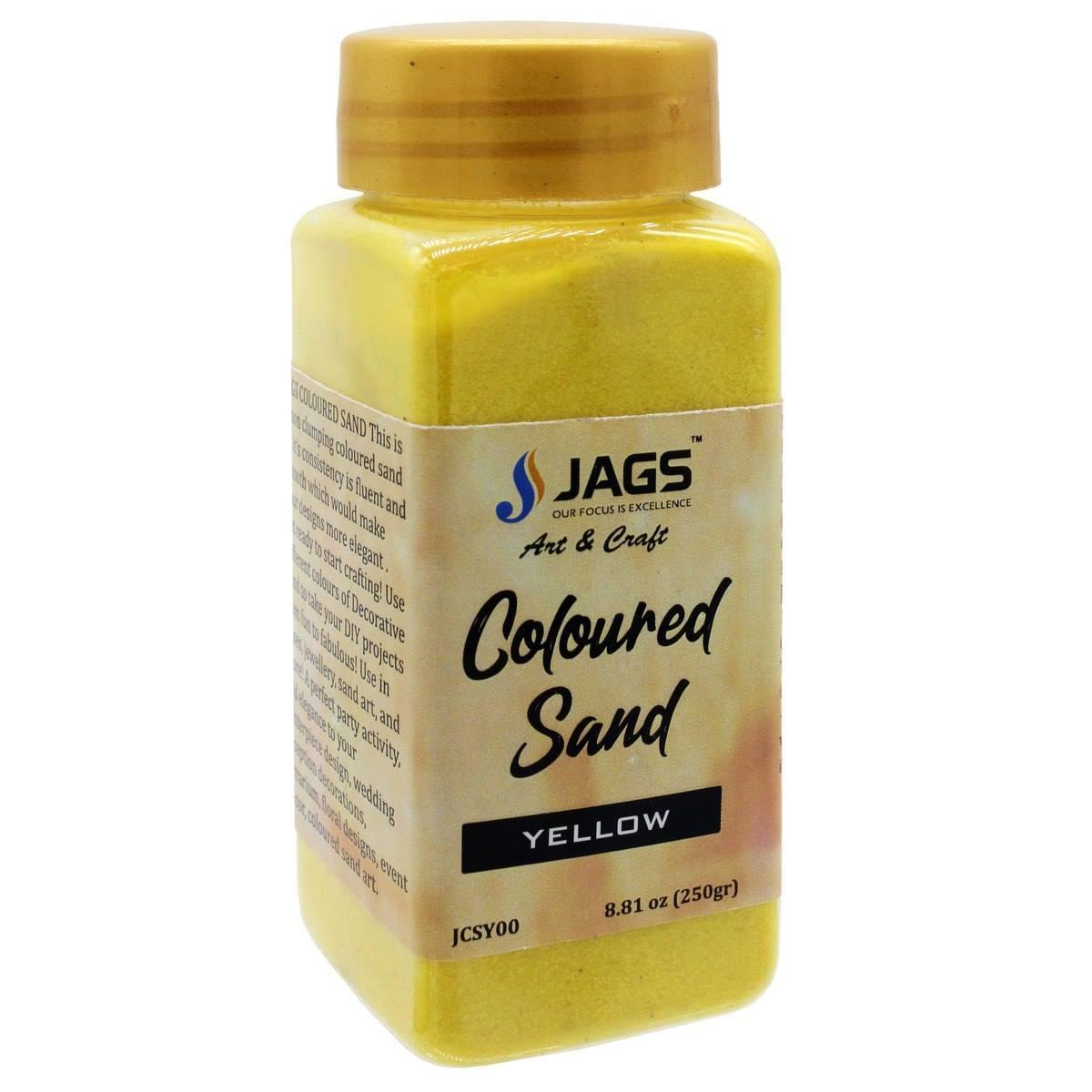 Coloured Sand Yellow