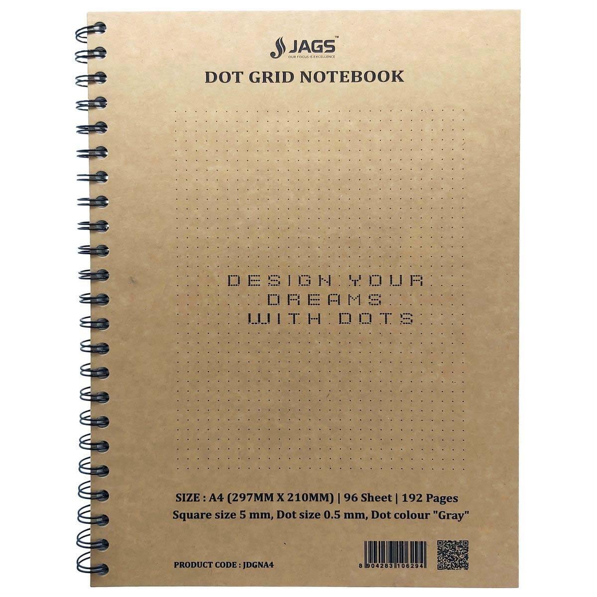 A4 Dot Grid Notebook