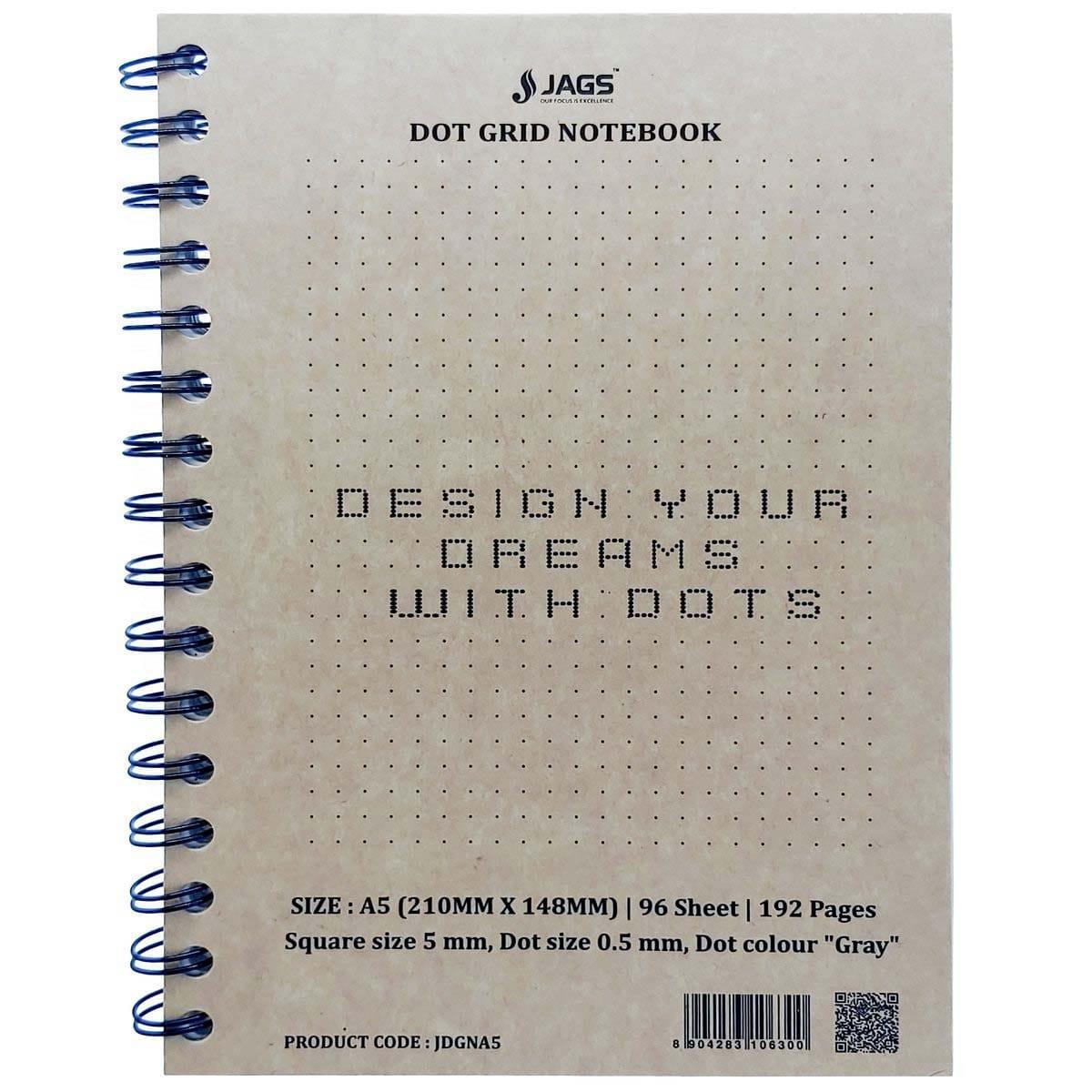 A5 Dot Grid Notebook