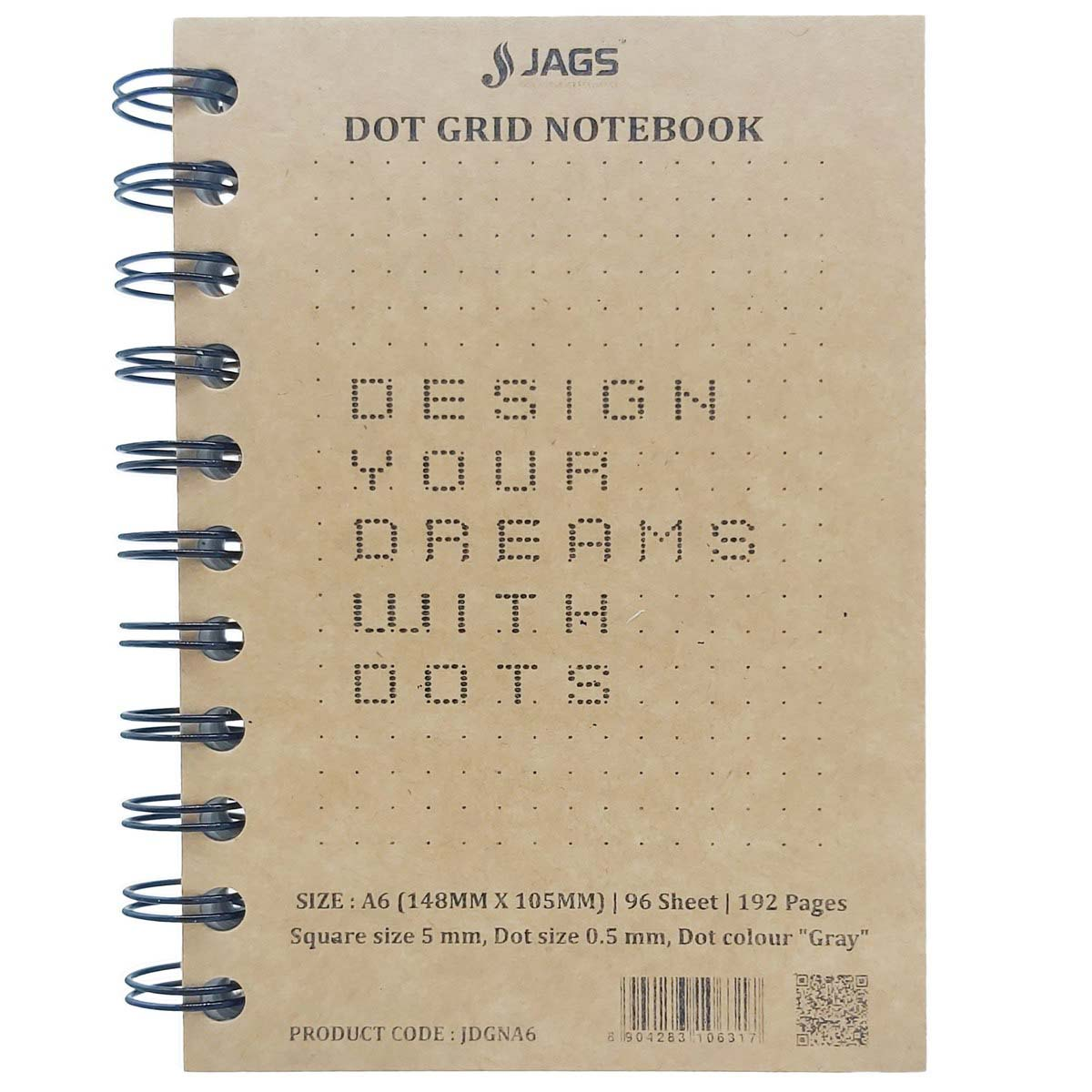 A6 Dot Grid Notebook