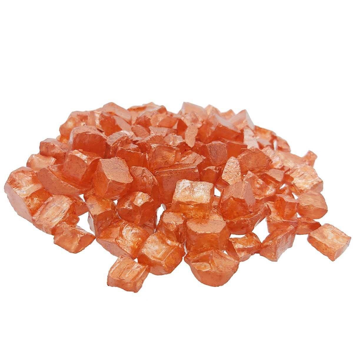 Flakes Metallic Stone Copper