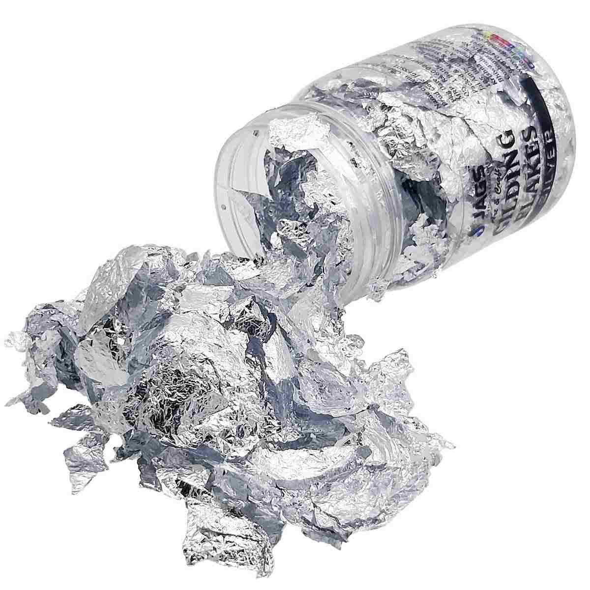 Gilding Flakes Small (Silver)