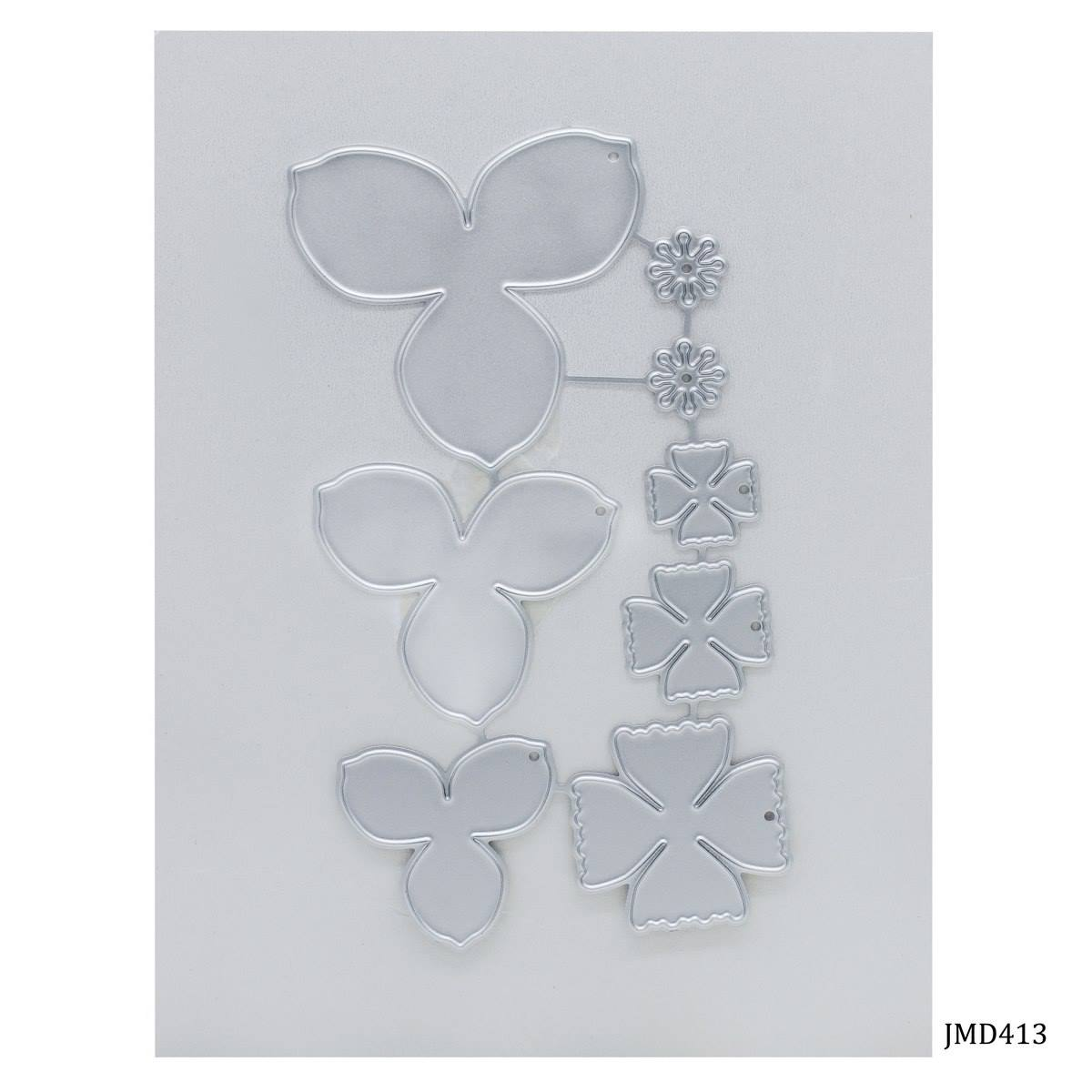 Metal Cutting Dies 8In1 Flower Design