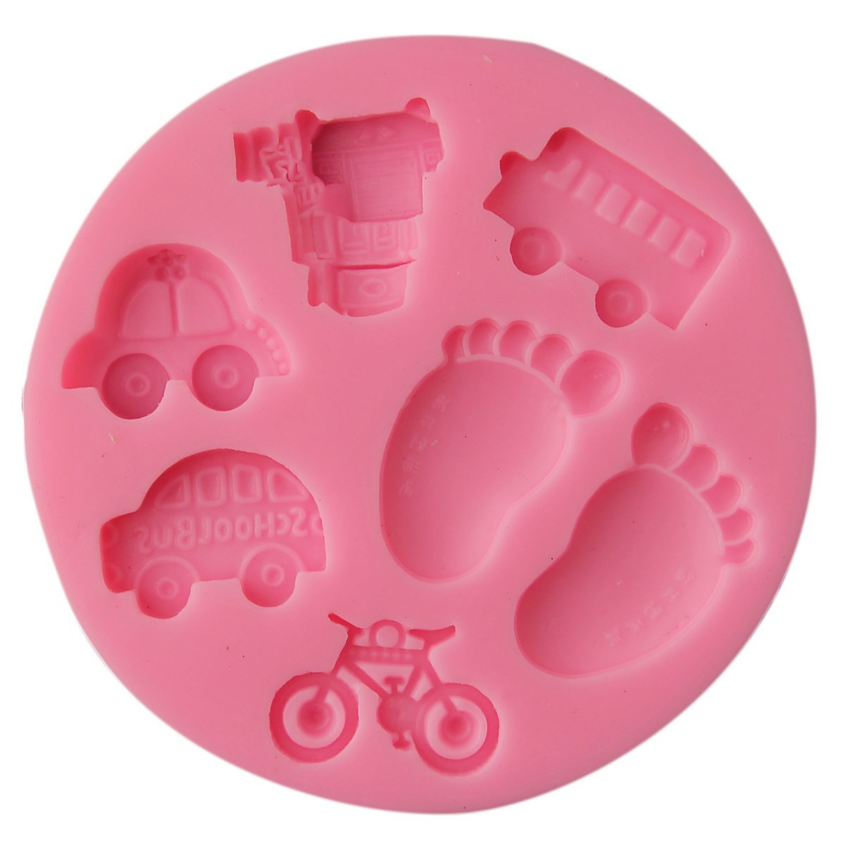 Resin Silicone Mould - Baby Toys (10x10x1 cm)