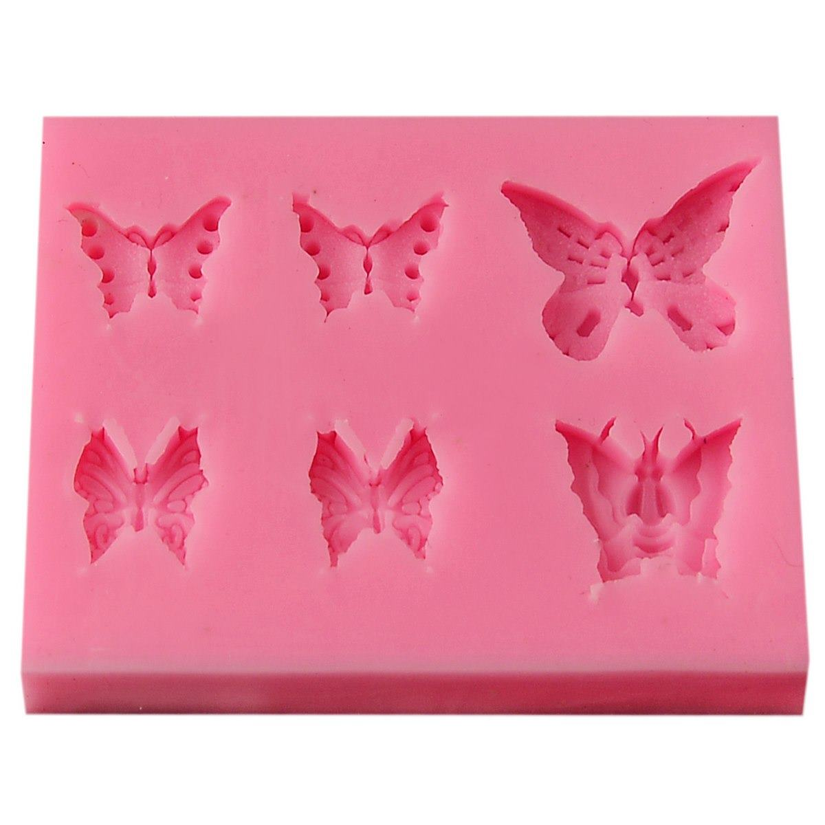 Resin Silicone Mould - Butterfly (7.5x5.5x0.7 cm)