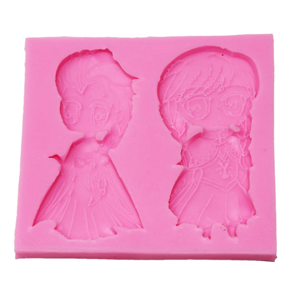 Resin Silicone Mould Animated Doll Design