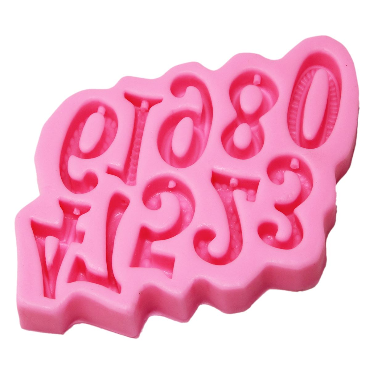 Resin Silicone Mould 1 to10 Number Design