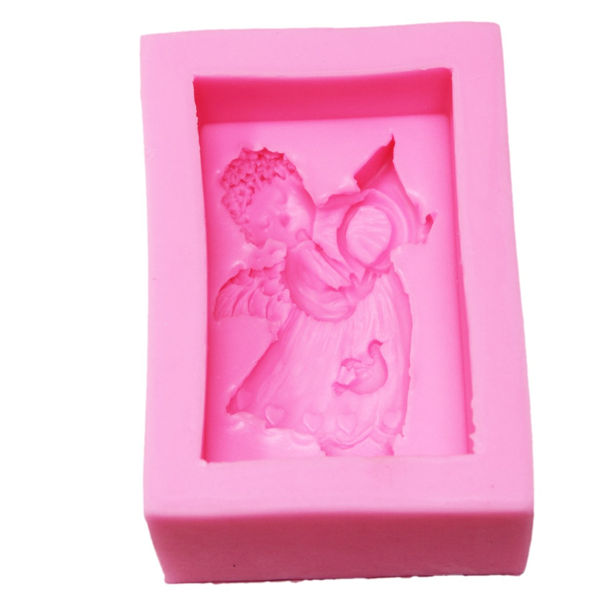 Resin Silicone Mould Musical Cupid Design