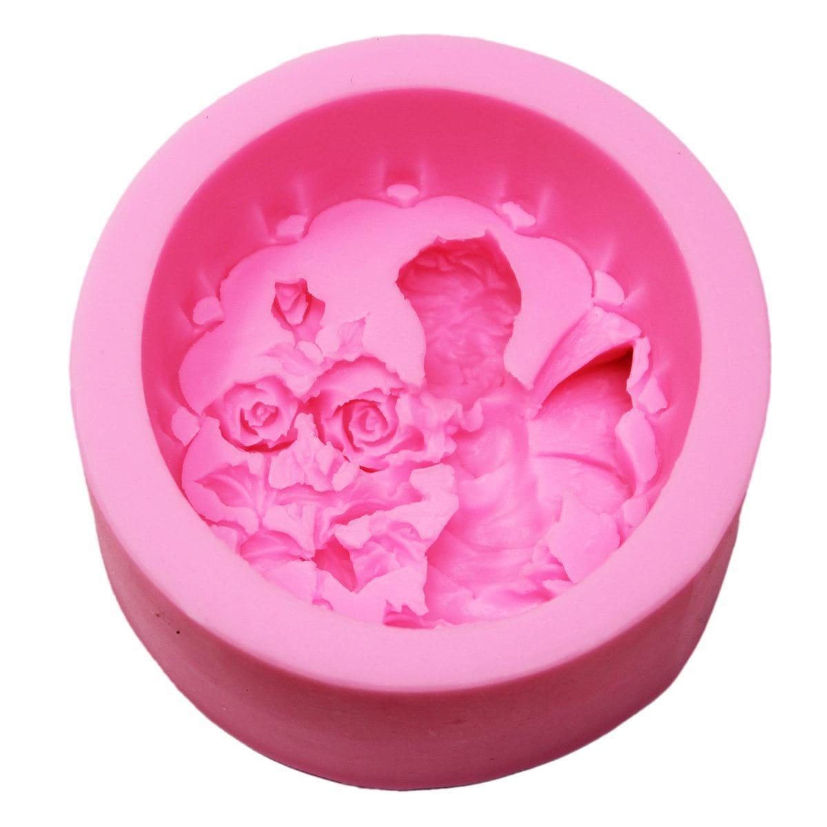 Resin Silicone Mould Boy Cupid Design