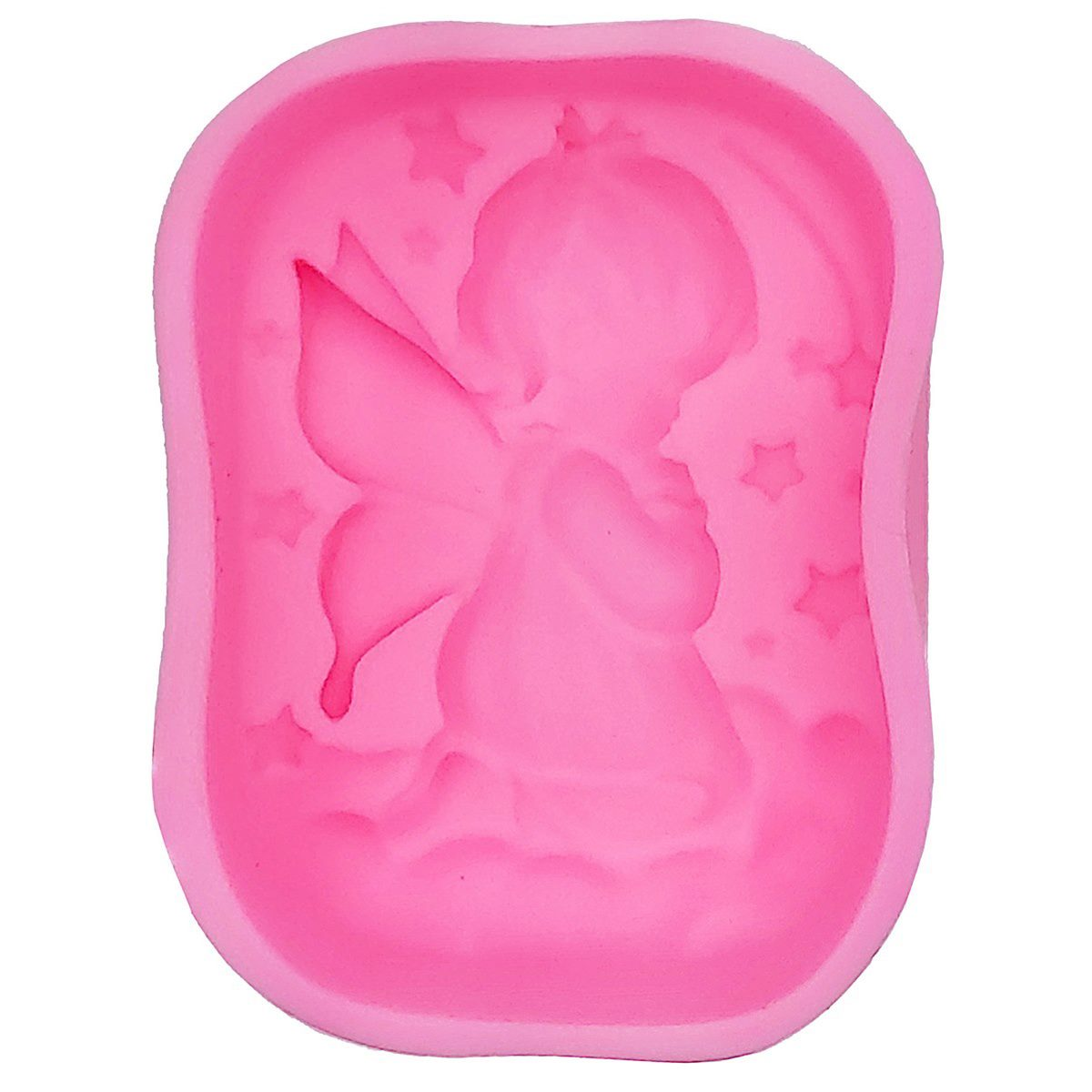 Resin Silicone Mould - Baby Fairy Tale (7.5x6x2.5 cm)