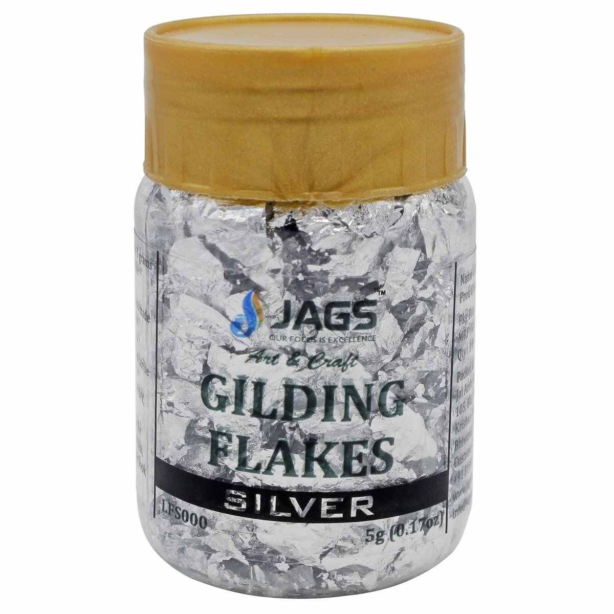 Gilding Flakes (Silver)