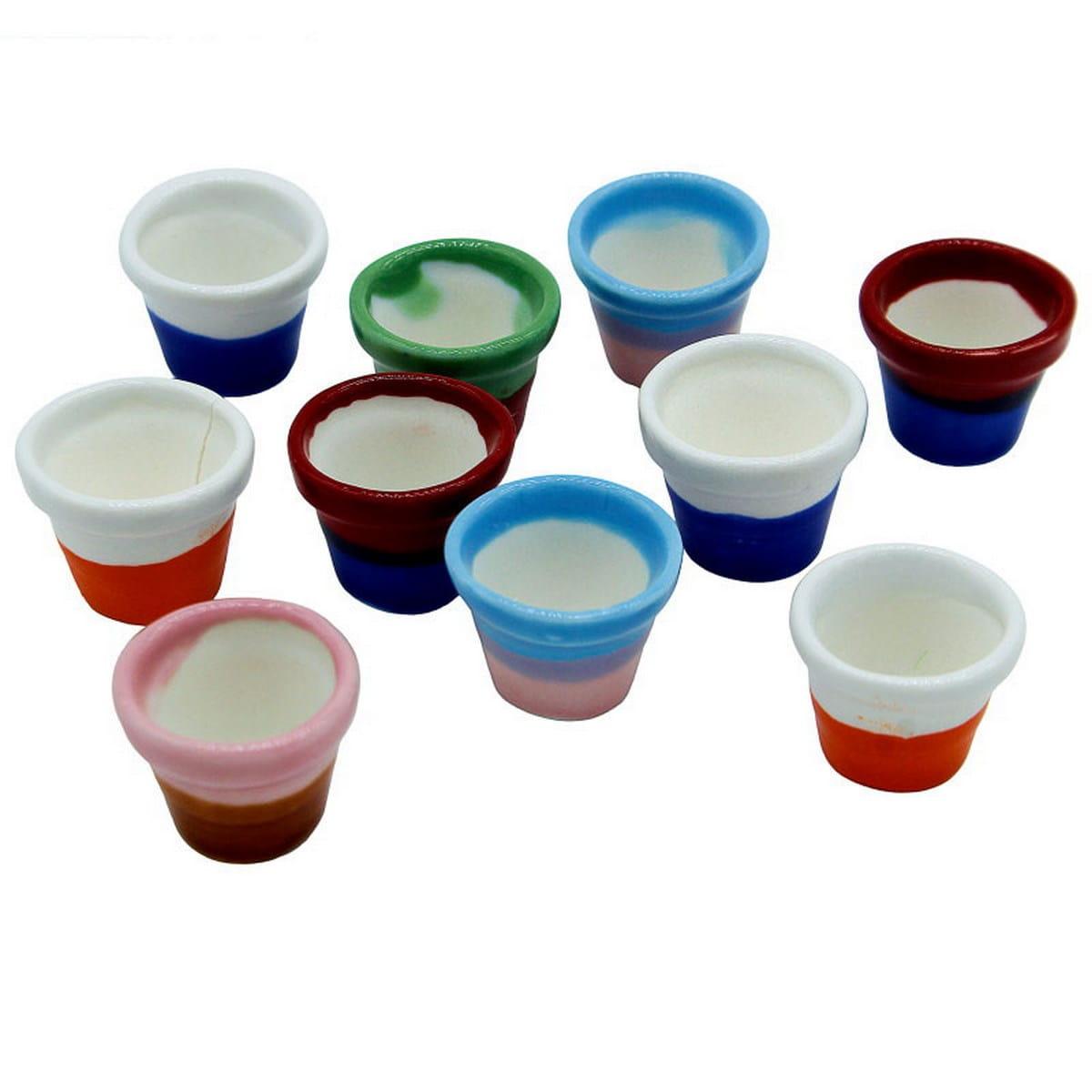 Miniature Ceramic Fancy Pot